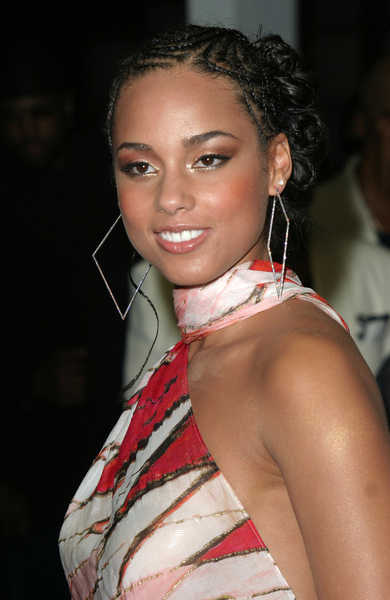 Terrific Alicia Keys Braided Hairstyles Hairstyles For Women Draintrainus