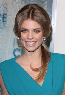 AnnaLynne McCord Ponytail Hairstyle