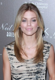 AnnaLynne McCord Long Layered Hairstyle