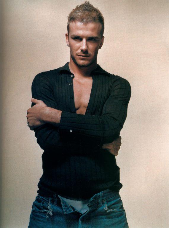 David Beckham Faux Hawk Haircuts Classic Hairstyle Ideas