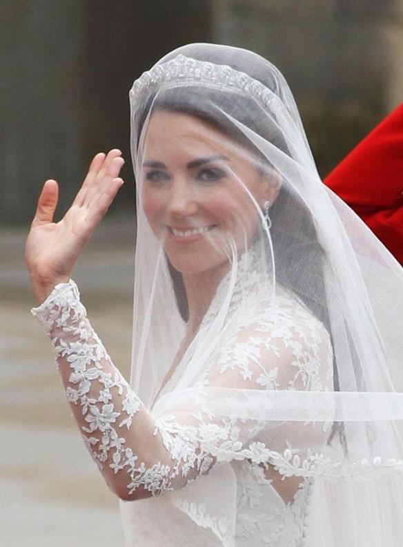 Kate Middleton Wedding Hair