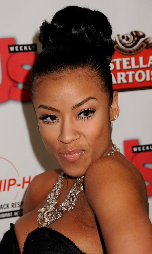 Keyshia cole sent from heaven hairstyle