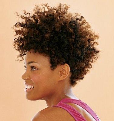 short curly black haircut pictures