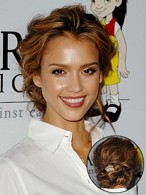 Updo Hair Styles   Celebrity Updos   Formal Styles