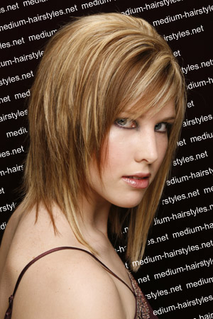 Layered Shag hairstyles haircuts
